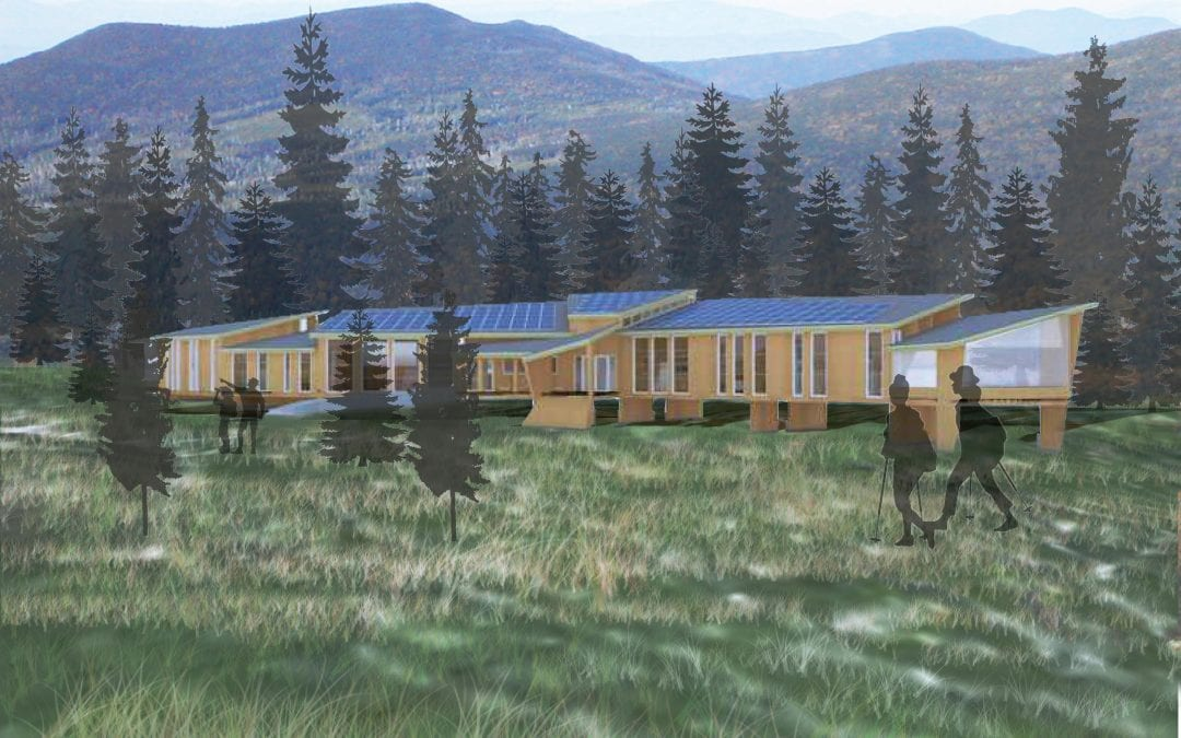 Wilderness Lodge – Maine Mass Timber Design Competition